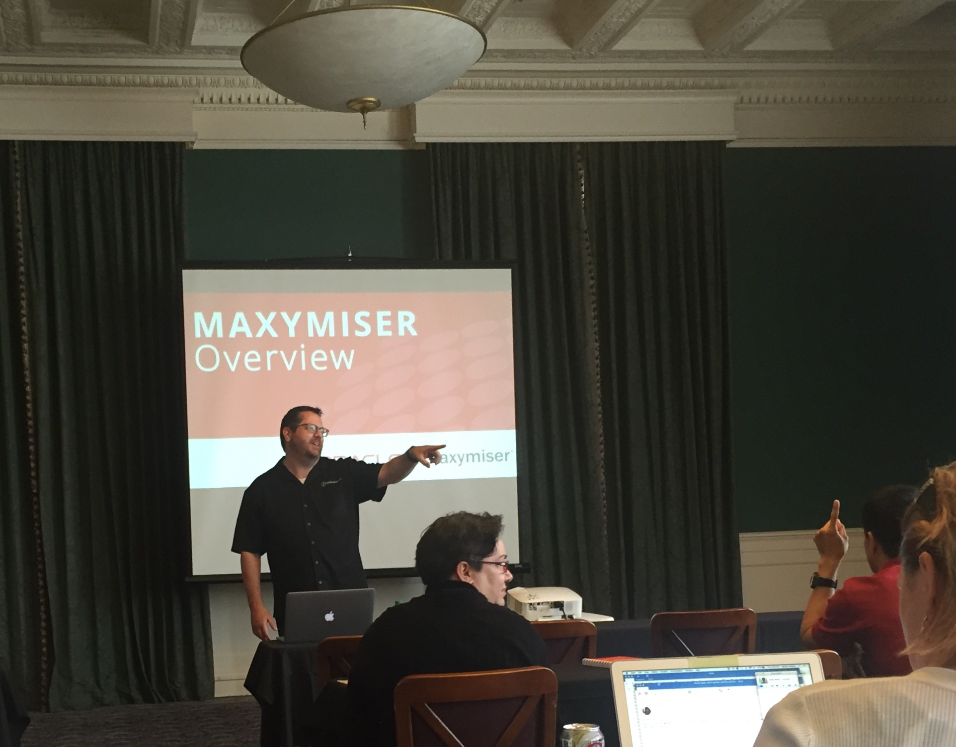 User Group presentation on Oracle Maxymiser