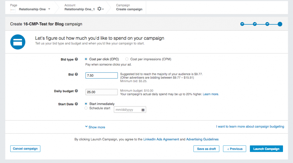 Linkedin Advertising What B2b Marketers Need To Know Relationship One