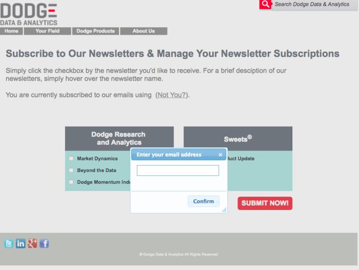 Dodge-Data-preference-center-email-option
