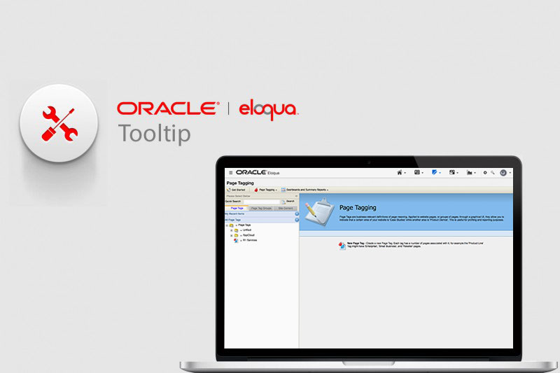 Tool-Tip-Oracle-Eloqua-Page-Tagging