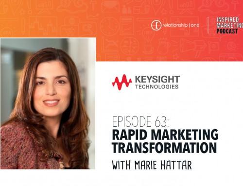 Inspired Marketing: Keysight's Marie Hattar on Rapid Marketing Transformation